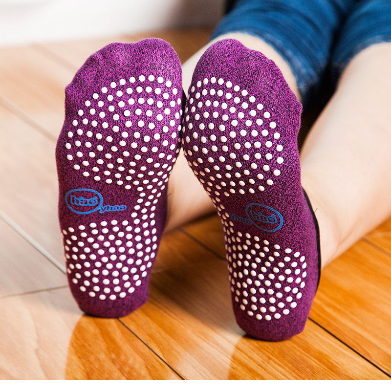 3 pairs Women Yoga foot soaks Quick Dry Anti Slip Silicone Gym Pilates Ballet  Fitness  Cotton Breathable Elasticity|Personal Care Appliance Parts| |  - title=