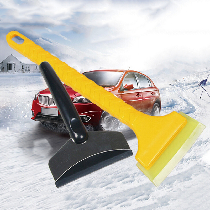 Ice Scraper Shovel Broom Set Portable Cleaning Brush Winter Outdoor Frost Hand Tool Windshield 2pcs Car Cleaner in Ice Scraper from Automobiles Motorcycles