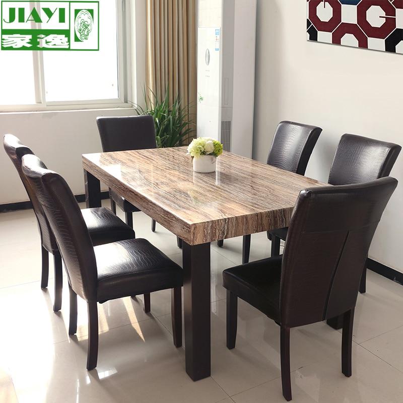 mesa de comedor marmol