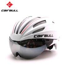 New Cycling Helmet MTB Road Bike Helmet Sun Visor Bicycle Helmet Aero Helmet With Goggles