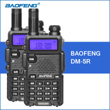 2 UNIDS/LOTE Baofeng UV-5R Versión Mejorada DM-5R DMR Digital Radio UHF VHF 136-174 MHZ/400-480 MHZ Walkie Talkie Portátil 2000 mAh 5 W