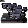 GADINAN 720 P Sistema de CFTV Kit 2000tvl 4CH AHD 720 P AHD-NH AHD-M DVR 1920*720 câmera 1.0MP Mini Câmera Kit CCTV Sistema de Vigilância
