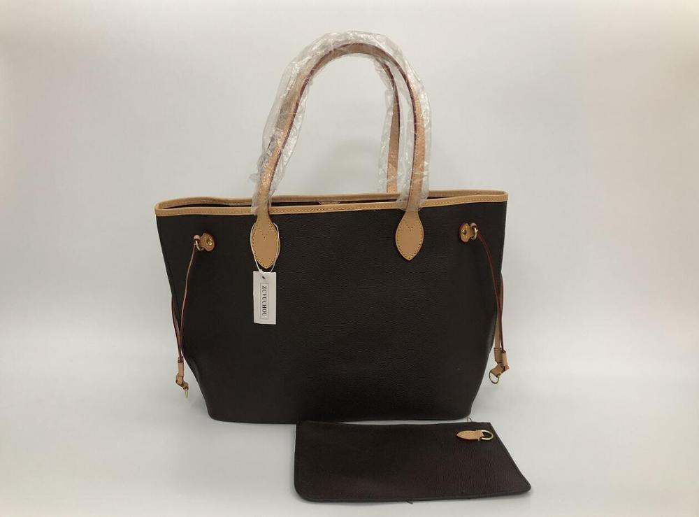 2019 Europe and America New Fashion Women Handbag Brown flowers bag with good quality bags size