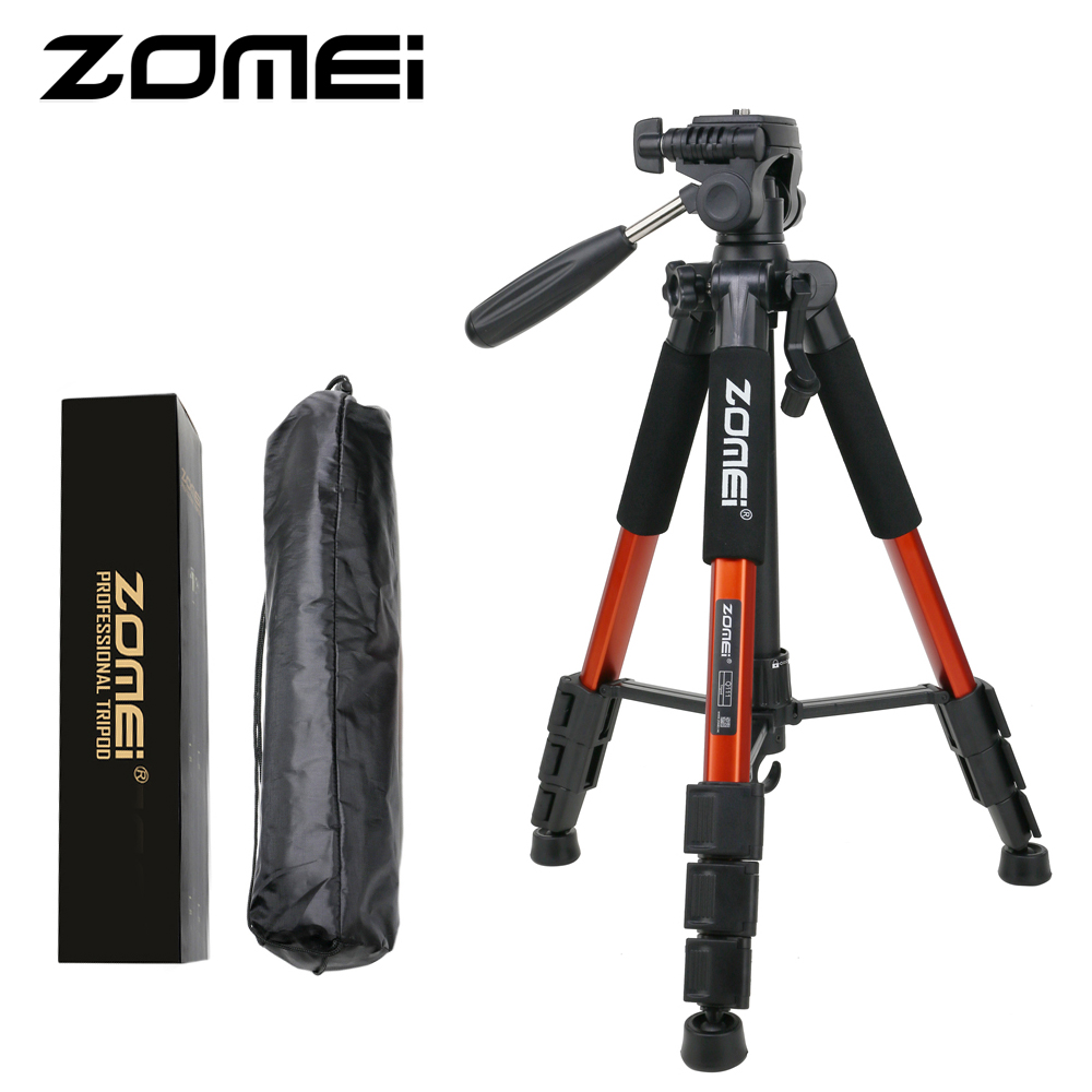 ZOMEI 55 Professional Light Weight Travel Portable Folding SLR Camera Tripod for Canon Nikon Sony DSLR