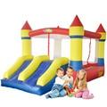 YARD Bounce Дом Двойной Слайд Мини Надувной Замок для Детей Надувные Перемычки Специальное Предложение для Горячей Зоны