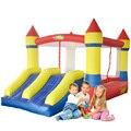 Yard casa de brinco slide dual mini castillo hinchable para los niños jumpers inflables oferta especial para la zona caliente
