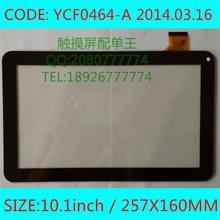 Las ostras T12 T12D T12V 3G tablet pc 10.1 pulgadas de pantalla táctil capacitiva panel YCF0464-A WJ608-V1.0