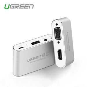 Image 1 - Ugreen 3 en 1 USB vers HDMI VGA + convertisseur Audio vidéo adaptateur AV numérique pour iPhone 6S Plus Ipad Samsung iOS Android