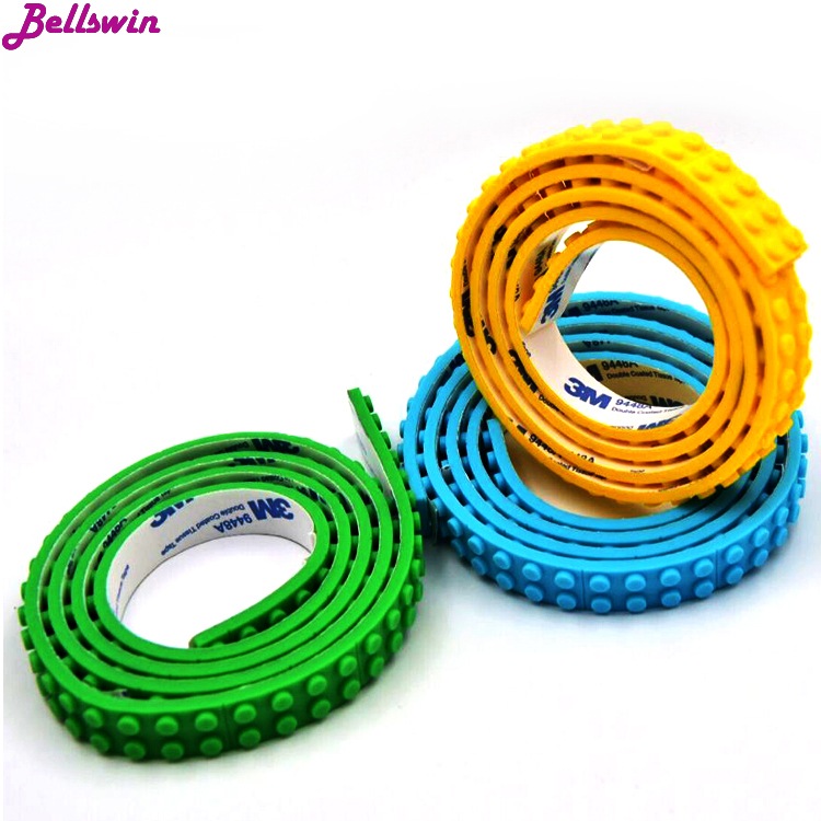 1M 2 Dots Small Loops silicone Tape Blocks Base Plate Building Blocks DIY Baseplate Compatible with Legos sexy toy bondage