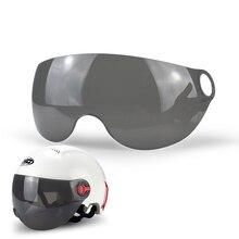 Universal Motorcycle Half Face Summer Helmet Sun Shield Retro Visor Lens For