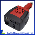 Real carro SUVPR inversor fonte de alimentação 150 w DC 12 v-AC 220 v transformador conversor de tomada portátil do telefone móvel carregador universal