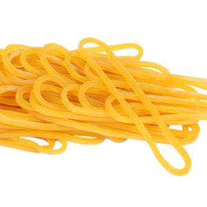 500 Pieces/Pack Yellow Rubber