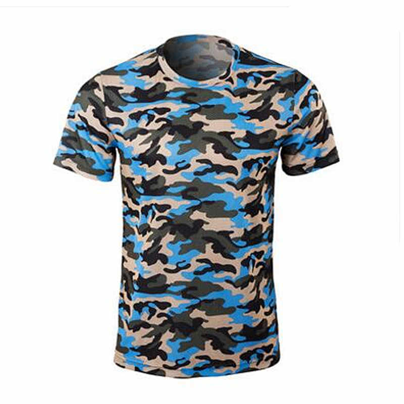 5d64ab27 ... New arrival Outdoor sport Camo blue Camo gray fishing clothes  breathable quick dry Anti Sai UV ...