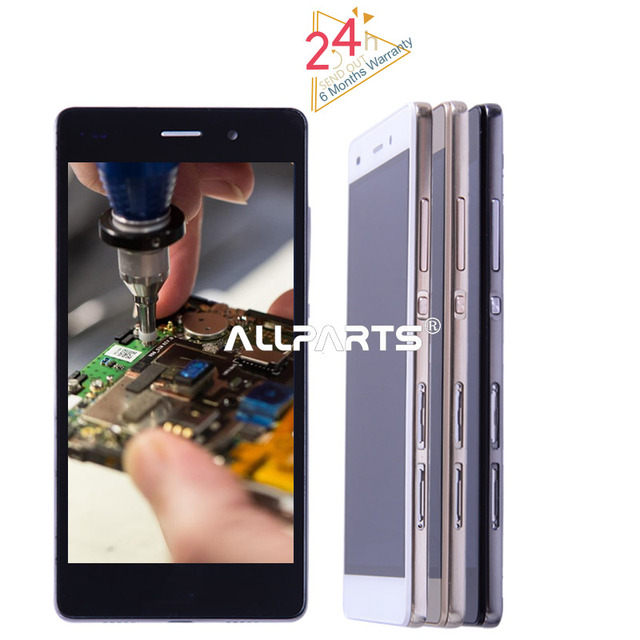 "No Dead Pixel 5.0""1280x720 Tested LCD For HUAWEI P8 Lite Display Touch Screen Digitizer Assembly Replacement ALE-L21 P8LITE L04"