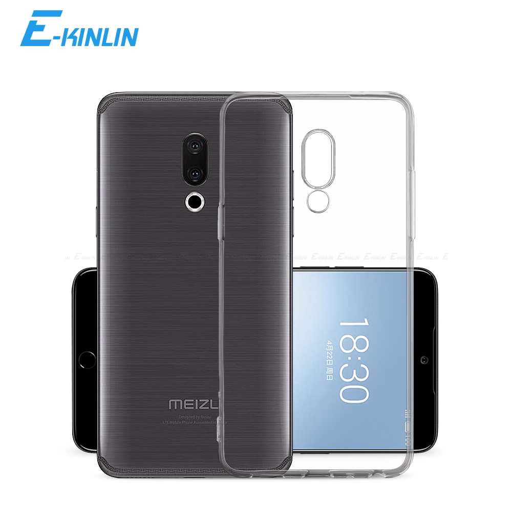 Clear Silicone Back Cover For <font><b>Meizu</b></font> X8 Pro 7 6 6s 15 Lite 16T 16S 16Xs 16 X 16th Plus M8 <font><b>M6T</b></font> M6s M6 M5c M5s M5 Note 9 8 <font><b>TPU</b></font> <font><b>Case</b></font> image