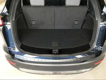 Garniture de seuil de protection de pare-chocs arrière extérieur en acier inoxydable 1 pièces pour Mazda CX-9 2017-2019