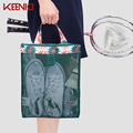 KEENICI Supermarket Shopping Bag Foldable Tote Reusable Big-size Washable Eco-friendly Grab Bag Supermarket Trolley Beach Bag