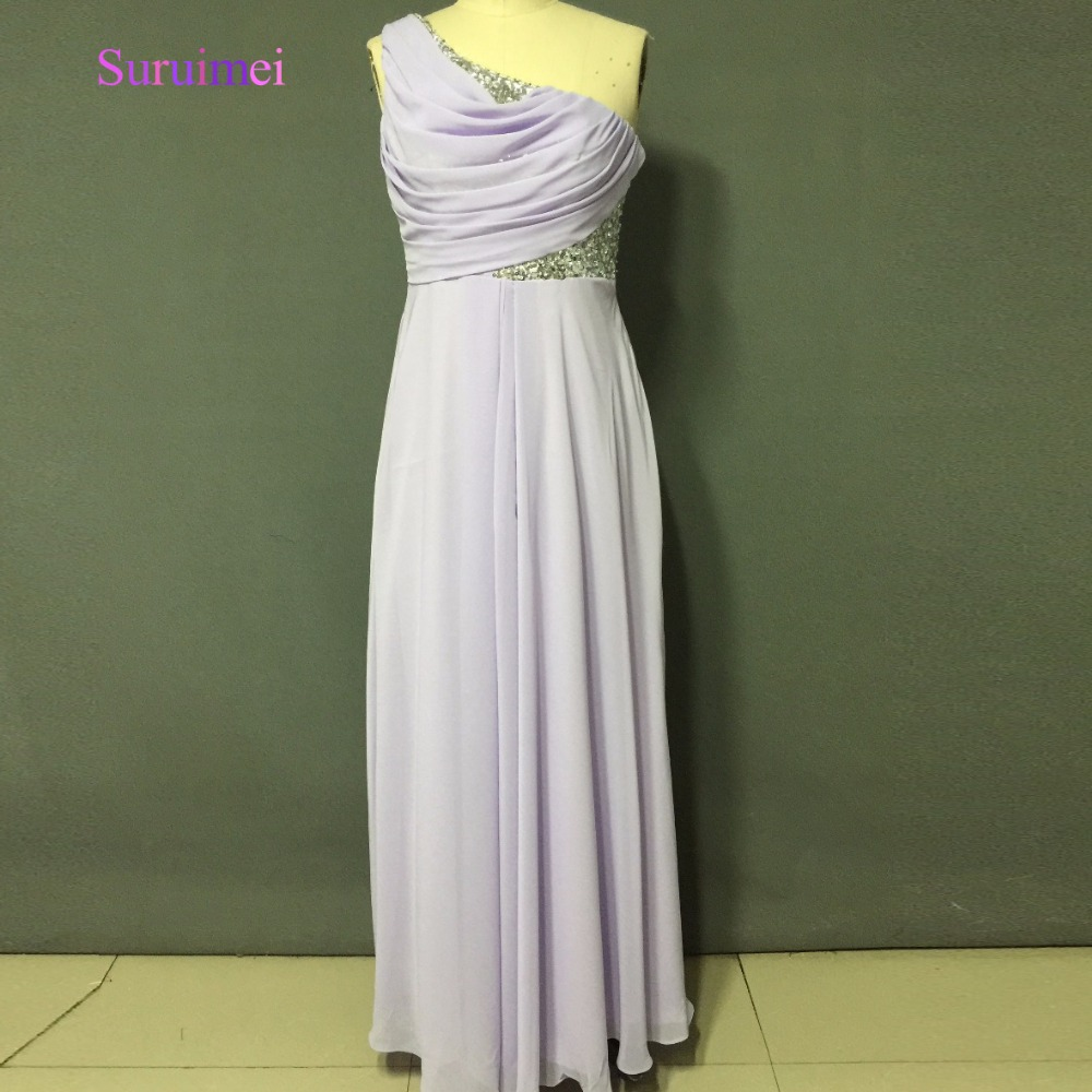 On Sale Light Purple Bridesmaid Dresses With New Sequined