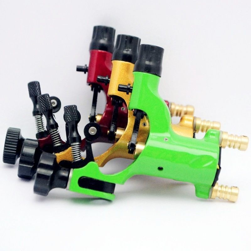 Pro 3pcs Mixed Red Yellow Green Dragonfly Rotary Motor Tattoo Machine For Liner Shader bask vinson pro v2