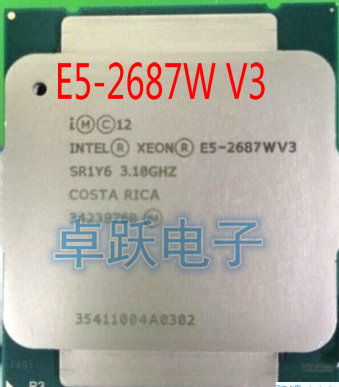 E5 2687WV3 оригинальный процессор Intel Xeon E5 2687WV3 3,1 ГГц 10 ядерный кэш 25 м E5 2687 Вт V3 FCLGA2011 3 160 Вт Бесплатная доставка|intel xeon|xeon e5intel xeon e5 | АлиЭкспресс