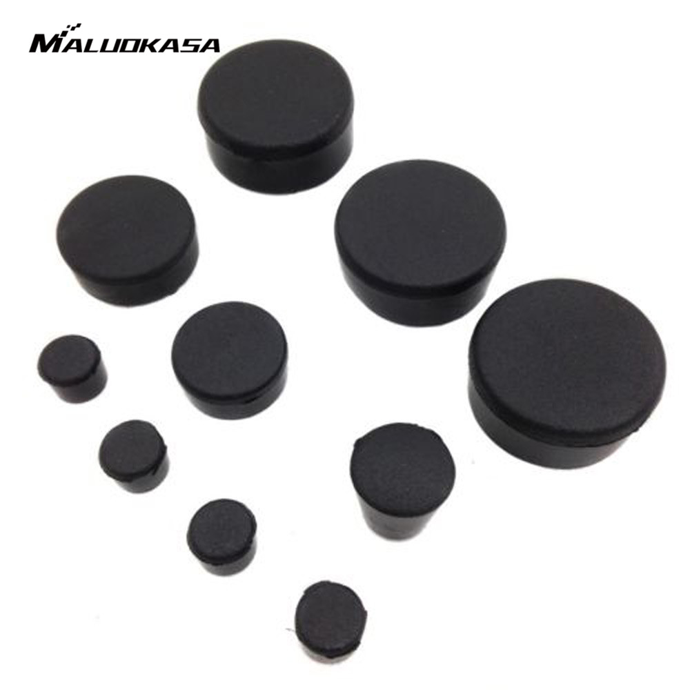 MALUOKASA Rubber Motorcycle Frame Fairings Plugs Set For Suzuki GSXR 600/750 2006 2007 2008 2009 2010 Motorcycle Protecting Caps radiator grille protective cover grill guard protector for suzuki gsxr600 gsxr750 gsxr 600 750 2006 2007 2008 2009 2010 2016