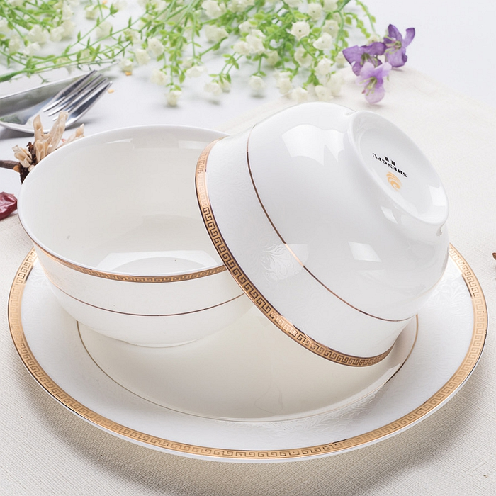 Gl Bowl With Decor For Microwave Oven