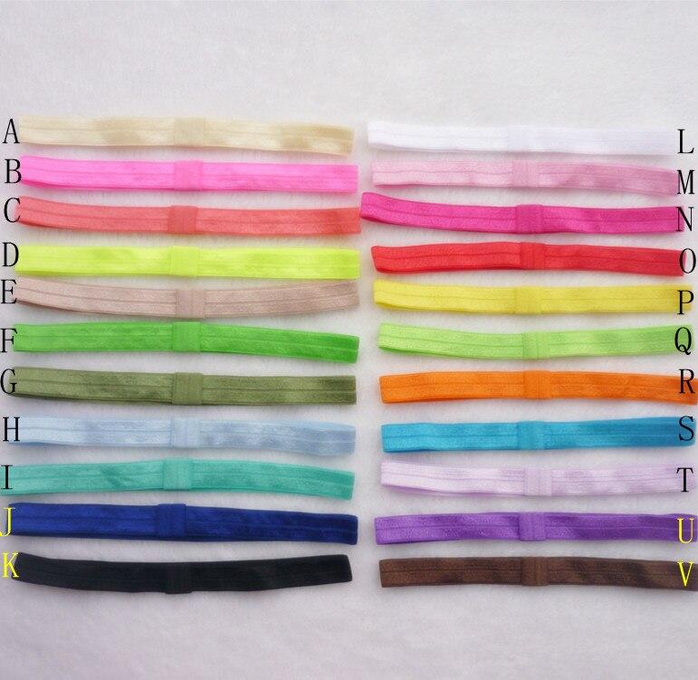 300pcs Interchangeable Shiny Soft Headband