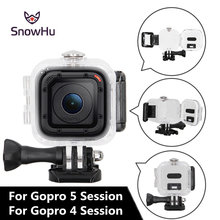 SnowHu  45M Underwater Diving Housing Protective Hard Case Cover for Gopro Hero 4 Session 5 Camera diving GP309