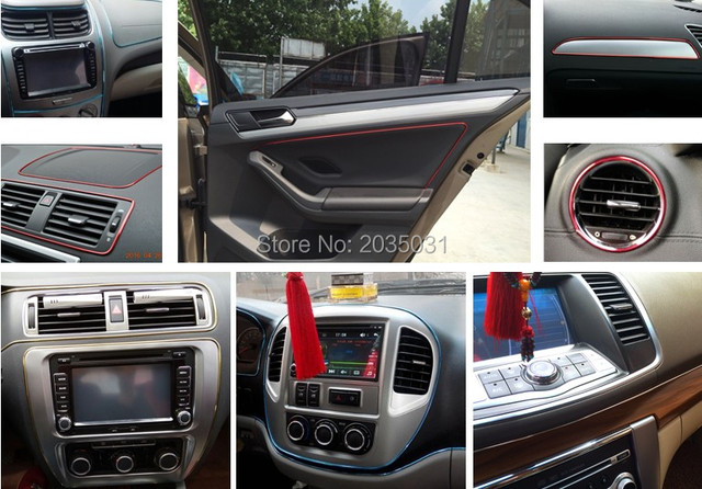 Aliexpresscom Buy Car Interior Decoration MOULDING Trim Strips