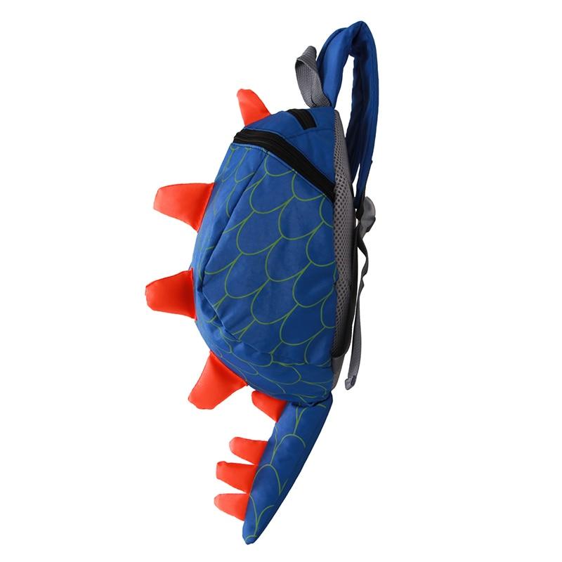 Динозавр Anti потерянный рюкзак для детей рюкзак aminals детский сад школьные сумки для 1-4 года