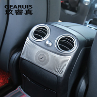 Car Styling Rear Air Conditioning Outlet Decorative Cover Trim Stickers For Mercedes Benz GLC C Class
