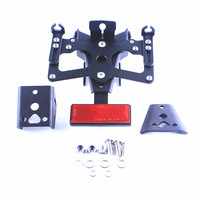 Fender Eliminator License Plate Bracket Kit Set Para Yamaha YZF R1 2009 2010 2011 2012 2013 2014 Acessórios de Moto
