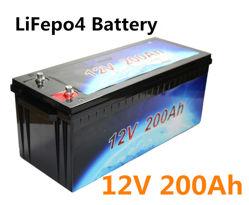 12 8v Lifepo4 12v 200ah Battery Pack Lithium For Motor