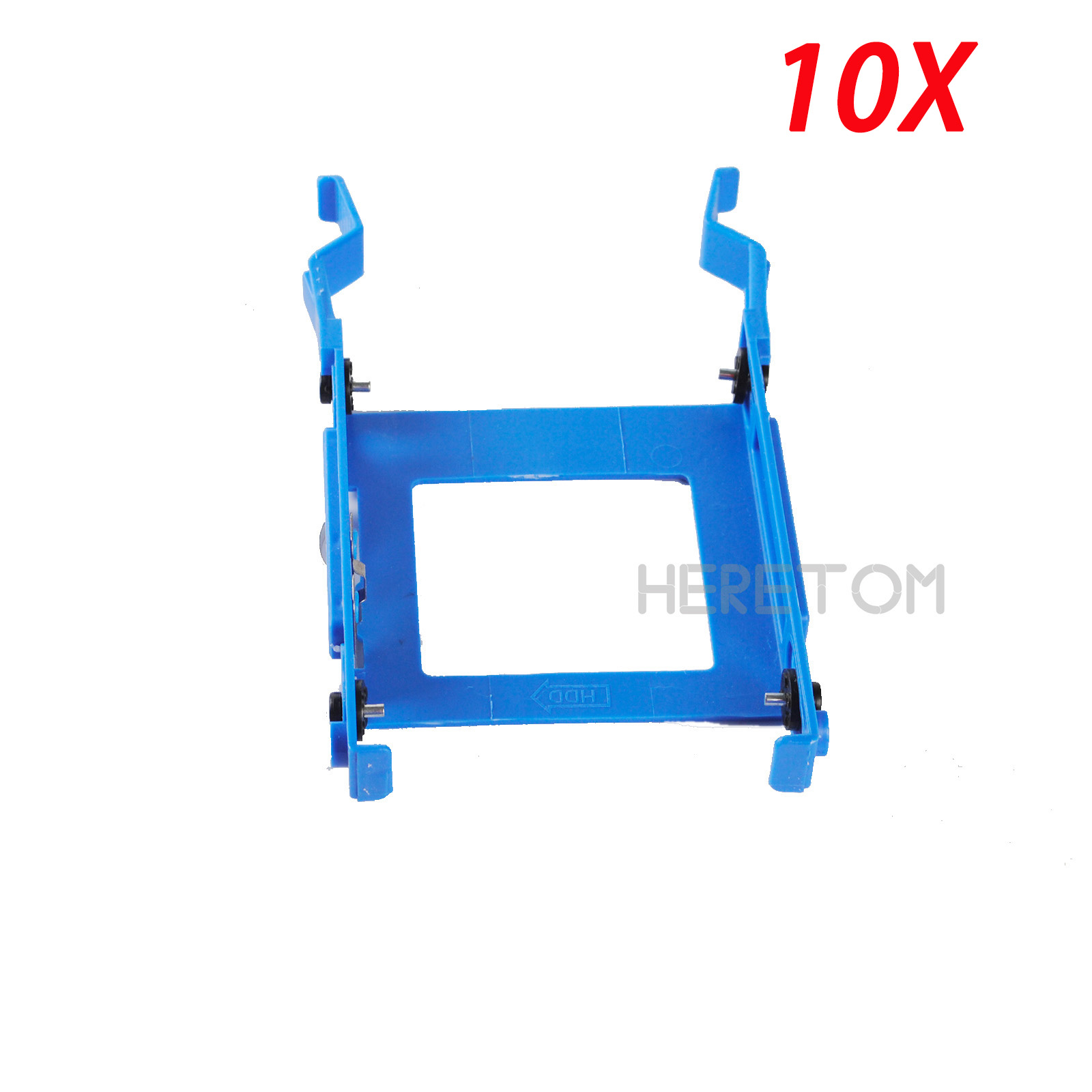 10PCS Express Free Shipping 2.5 HDD Bracket Caddy 3650 for Dell Optiplex 3040 5040 5050 7040 7050 3046 MT X9FV3(China)