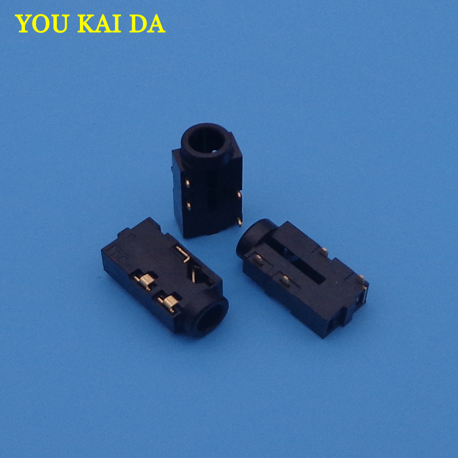 3.5 Audio jack Connector For Toshiba C850 L850 C870 L870 C855 L855 L875 C50 MIC Socket Headphone Female Port