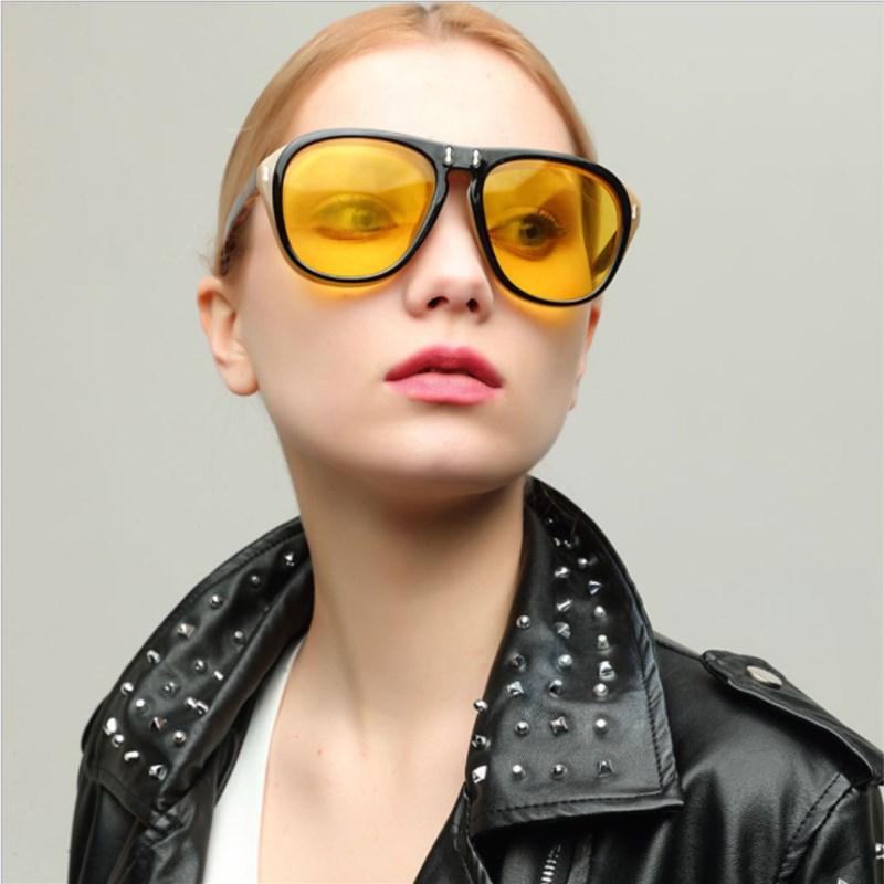 56e174d39f7 KOTTDO New Steampunk Sunglasses Retro Clamshell Sunglasses Clear glasses  Fashion Men s and Women s Sunglasses gafas de sol-in Sunglasses from Apparel  ...