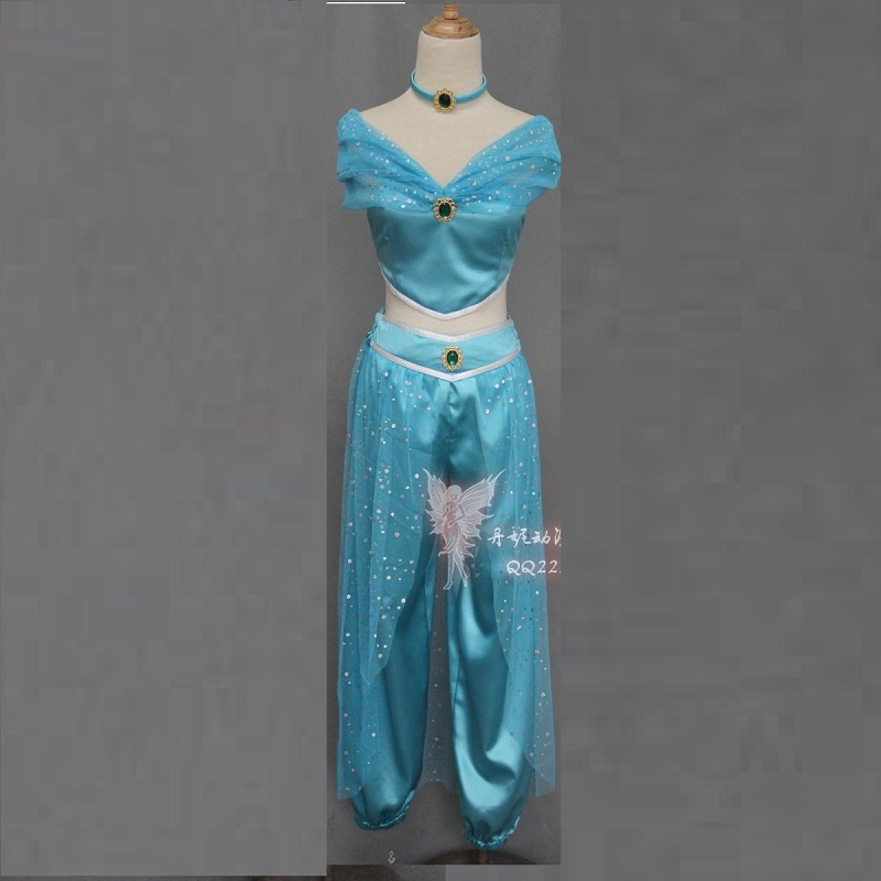 cosplay for kids girl aladdin enfant halloween costumes for women genie Sexy princess jasmine costume adults for women plus size-in Holidays Costumes from ... & cosplay for kids girl aladdin enfant halloween costumes for women ...