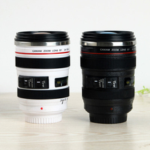 400ML Creative simple insulation lens drinking glass camera lens unique fashion gift drinking glass insulation
