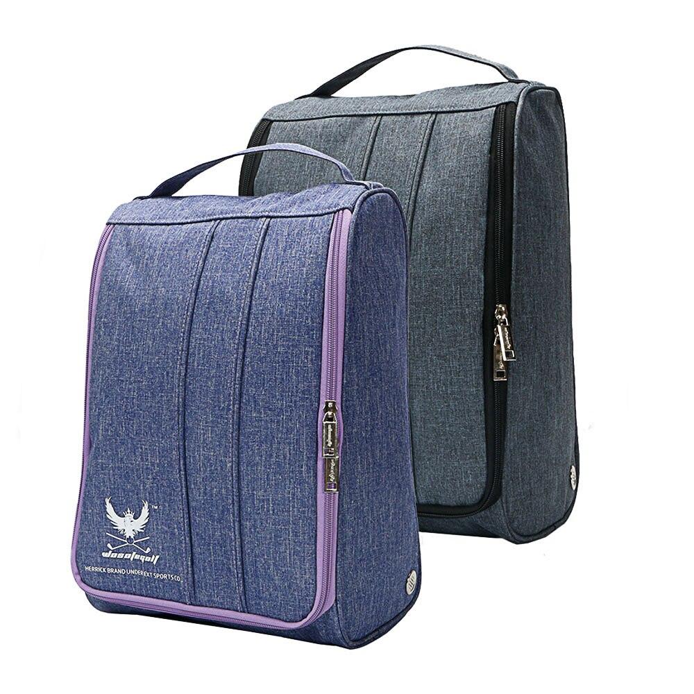 Golf Sport Shoes Bag Big Capacity Light Practical Travel Pack Shoe Pouch Waterproof Dustproof Shoes Bag