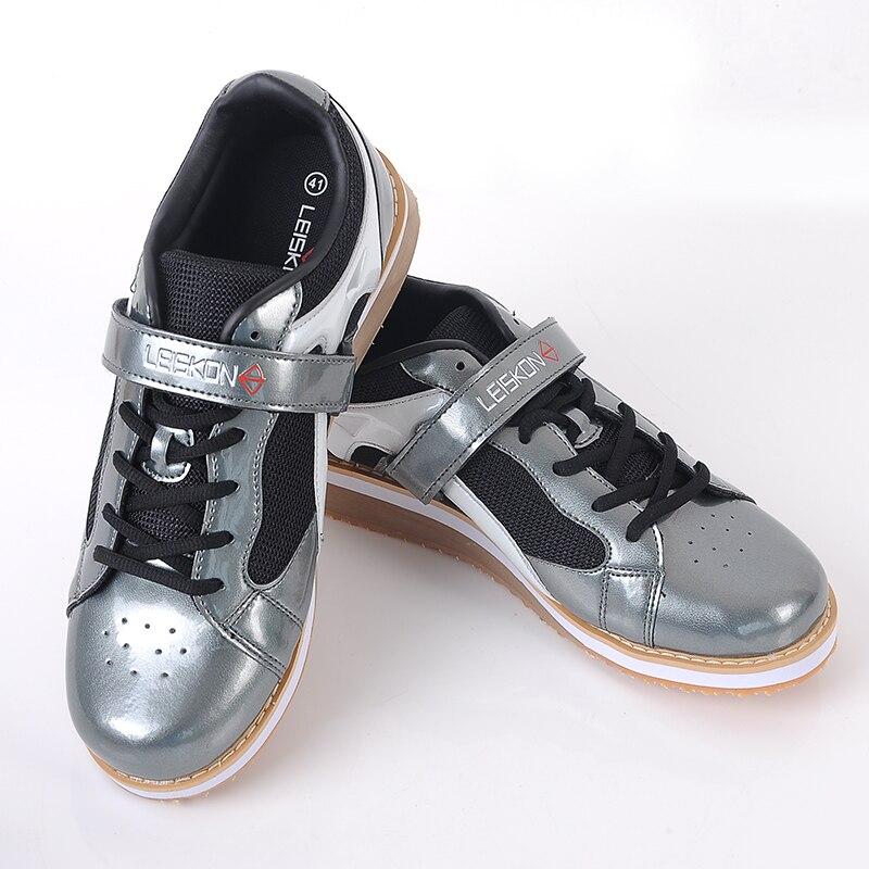 Agachamento sapatos barbell puxar duro sapatos de levantamento de peso ginásio formação puxar duro profissional indoor exercício tênis - 6
