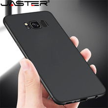 JASTER Ultra Thin Cell Phone Case For Samsung Galaxy S6 S7 Edge S8 S9 S10 e Lite Plus S8Plus S9Plus Duos TPU Silicone Back Cover