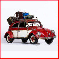 32CM Travel Ver Archaize Automobile Retro Handwork Ironhide Motorcycle Tin models PVC Action Figure Model Toy G555