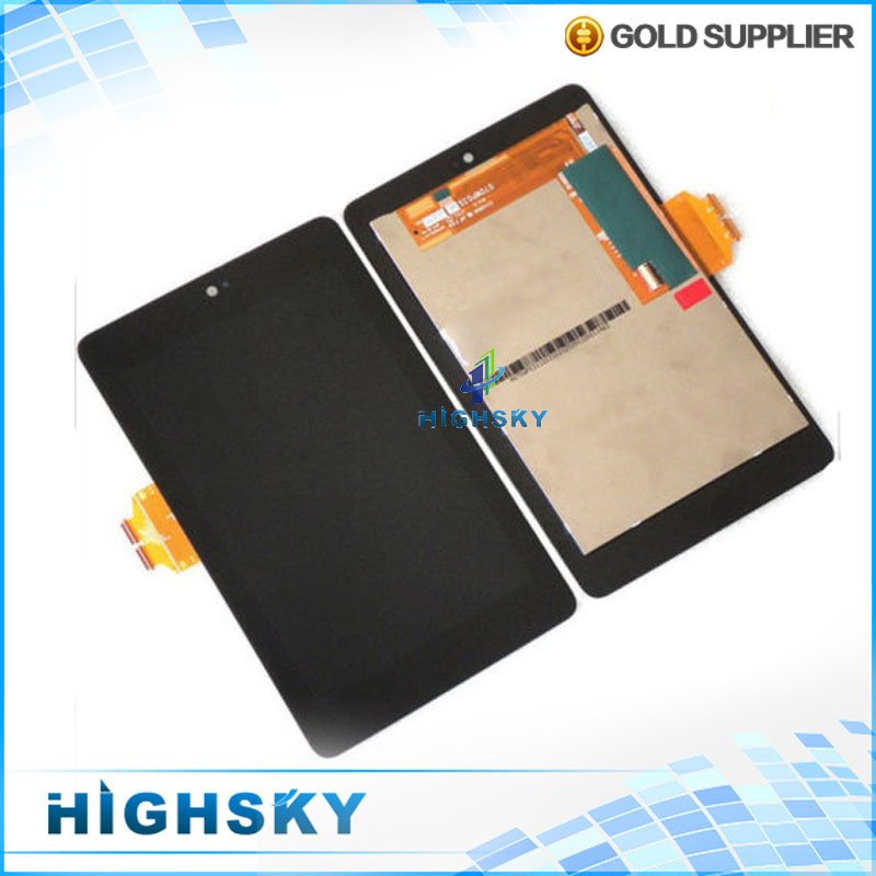 High Quality LCD For ASUS Google Nexus 7 Display 1st Gen ME370 Screen With Touch Digitizer Full Assembly 1 piece free shipping high quality n9300 full lcd 5 7 lcd