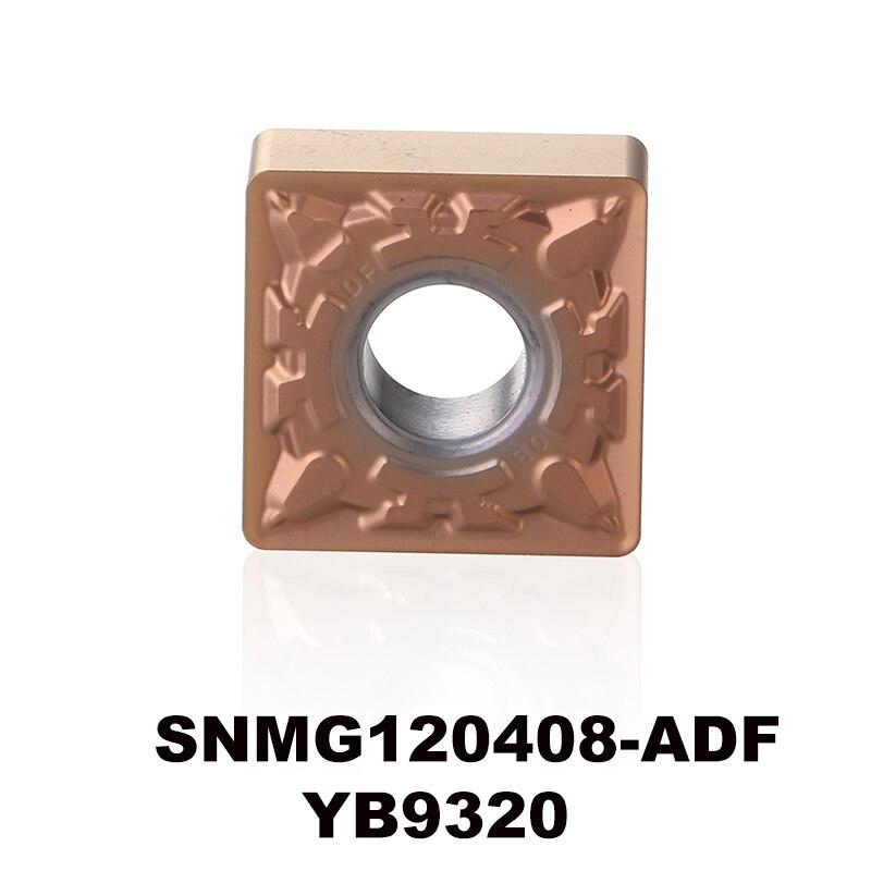 Carboneto de Torneamento Yb9320 para o tipo de Aço Inoxidável Material Inserções Placa Cnc Snmg120408 Snmg 120408 Snmg432 Snmg120408-adf p