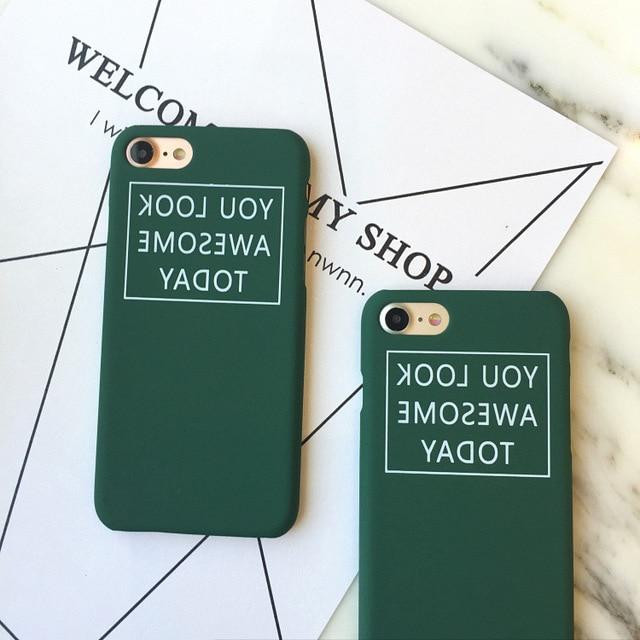 iphone 7 case dark green