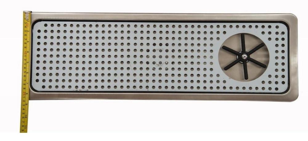 Bandeja de enjuague de vidrio espray grande para jarra de vapor de leche y cristalería Espresso-in Piezas de la máquina de café from Electrodomésticos    1