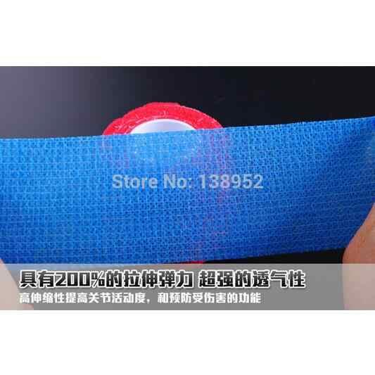 3 Rolls/Lot 25 Mm X 4.5M Dito Nastro Adesivo Elastico Fasciatura Pallavolo Basket Protezione Delle Dita Stretched di Sport nastro