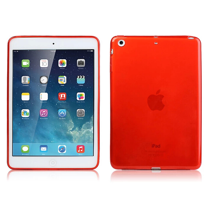 Cijeli jasan prozirni TPU Silicon Back Case Cover za Apple iPad Mini - Dodaci za tablet