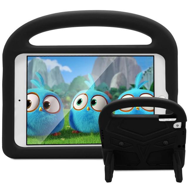 9.7 ''Giáp Ốp Lưng Máy Tính Bảng cho Ốp Lưng iPad 2018 Trẻ em Đứng Silicon A1893 A1954 Chống Sốc cho iPad 2018 9.7 Trẻ Em Ốp Lưng