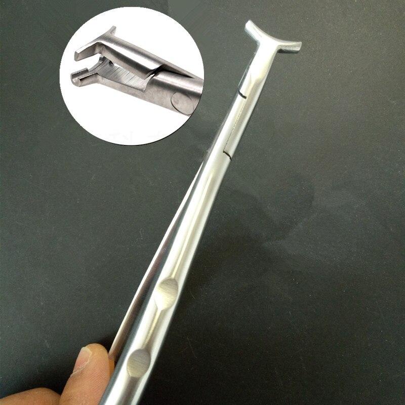 Metal Dental Forceps Instruments Orthodontic Tools NiTi-Bending Plier Distal End Bending Dental Teeth Orthodontic Forceps